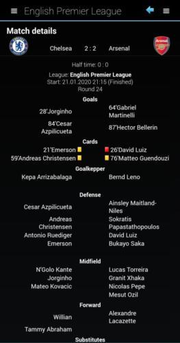 04. Match details - statitcs